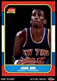 1986 Fleer # 83 Louis Orr New York Knicks (Basketball Card) Dean's Cards 8 - NM/MT Knicks