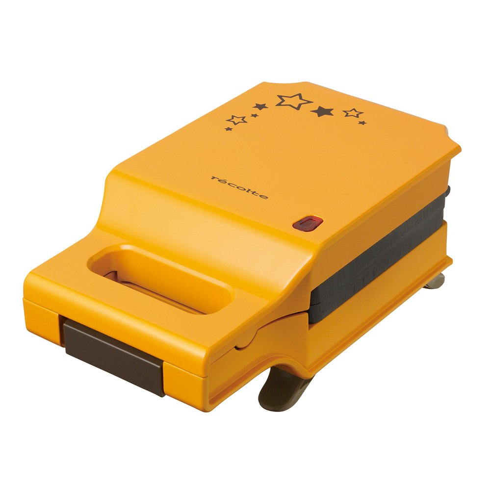 recolte PRESS SAND MAKER Quilt Limited Star (Limited Quantity) RPS-1LS (Yellow)【Japan Domestic genuine products】 by recolte