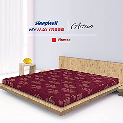 Sleepwell Activa Firmtec Mattress X X Inches Maroon - Create a invoice for free online mattress store