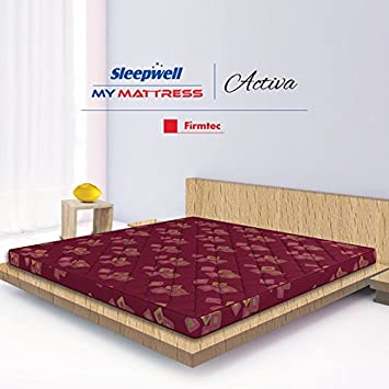 Sleepwell Activa Firmtec Mattress - (72 x 36 x 4 Inches e83176e59