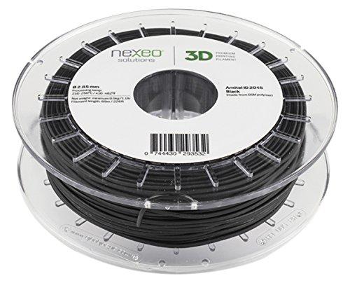 3D Printing Filament ARNITEL ID 2045 Black 2.85mm 500gr Nexeo Solutions 16106025