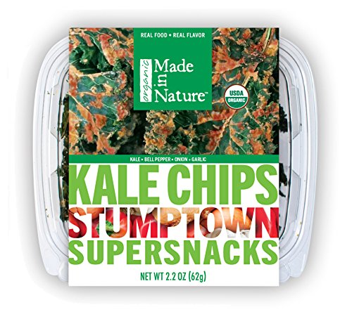 Made in Nature Kale Chips Nacho Garden 2.2 Ounce (Pack of 8)
