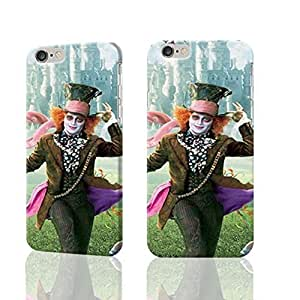 """Mad Hatter Alice in Wonderlan 3D Rough iphone 6 -4.7 inches Case Skin, fashion design image custom iPhone 6 - 4.7 inches , durable iphone 6 hard 3D case cover for iphone 6 (4.7""""), Case New Design By Codystore"""