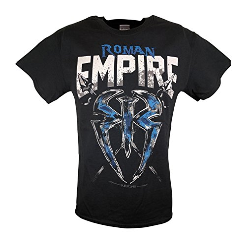 Hybrid Tees Roman Reigns Empire Spare No One Spear Everyone Mens T-Shirt-L by Hybrid Tees