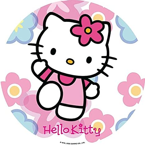 Dekoback Zucker-Tortenaufleger Hello Kitty, 1er Pack (1 x 20 g ...