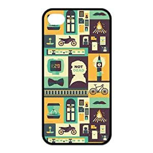 iPhone 5c Case, Sherlock Hard TPU Rubber Snap-on Case for iPhone 5c