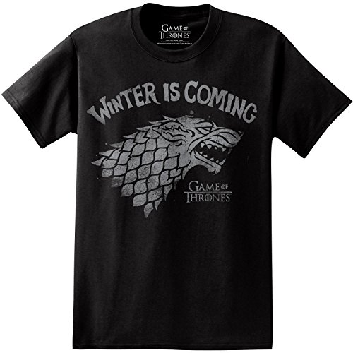 Game of Thrones Winter is Coming Bold Print T-Shirt - http://coolthings.us