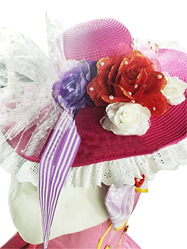 Mtxc Women's Love Live! Cosplay Costume Nico Dress SR Card Ver. Size Medium White by Mtxc (Image #3)