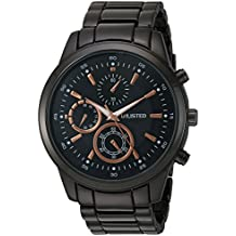 UNLISTED WATCHES Men's 'Sport' Quartz Metal and Alloy Casual Watch, Color:Grey (Model: 10027761)