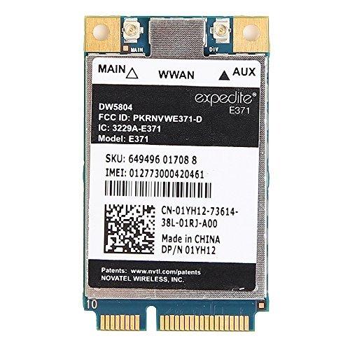 Dell Wireless DW5804/E371 4G (LTE-3G) PCI-E WWAN Card for DELL DP/N 01YH12 by Huasijie