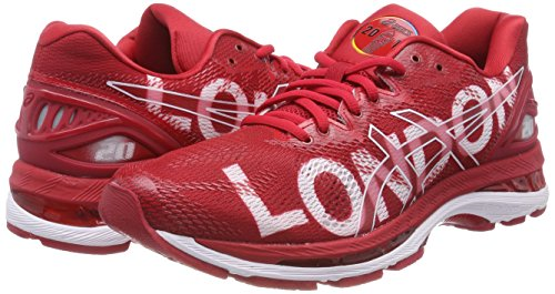 Red Nimbus Red Asics Competition Running Classic London 2323 Red Women''s Marathon Shoes 20 White Classic Gel UxzPAE