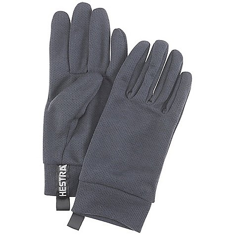 Hestra Polartec Power Dry Liner Glove Charcoal 8 Polartec Liner