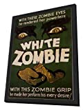 White Zombie 27 x 40 Movie Poster - Style A - in Deluxe Wood Frame