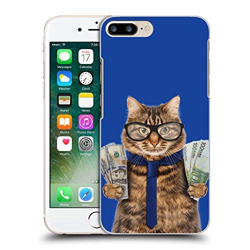GoGoMobile Coque de Protection TPU Silicone Case pour // Q05660613 Chat d'affaires Blu // Apple iPhone 7 PLUS