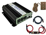 VertaMax Modified 1200 Watt (2400W Surge) 12V 12 Volt Power Inverter DC to AC Car, Solar, RV, Car, Boat (Cables + Remote Switch + ANL Fuse + USB Port Included)