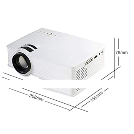 Inicio proyector de alta definición LED micro proyector portátil ...