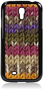 Yarn- Case for the Samsung Galaxy S4 i9500- Hard Black Plastic Snap On Case