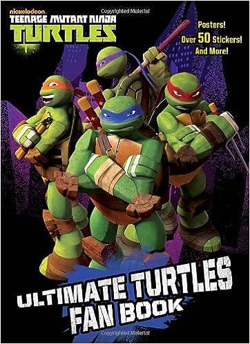 Amazon.com: Ultimate Turtles Fan Book (Teenage Mutant Ninja ...