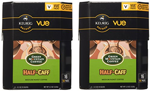 Mountain Coffee Half Caff Keurig Brewers