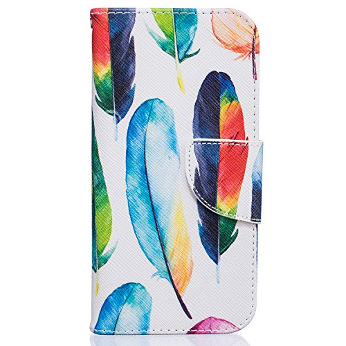 iPhone 7 Case, iPhone 7 Wallet Case, Beimu STAND Feature PU Leather Protective Card Holder Cases with Credit Card & ID Card Slot, Shockproof Cover for Apple iPhone 7 4.7inch -