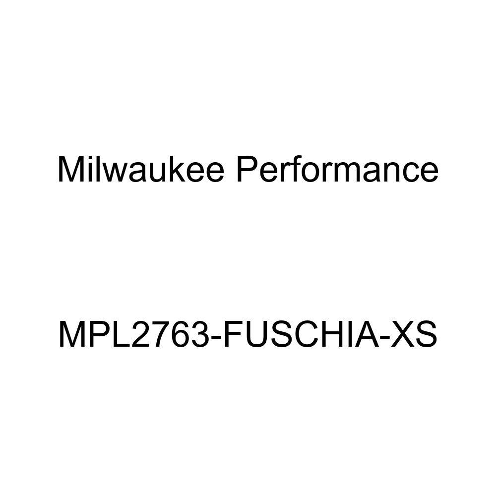 Milwaukee Leather Women Waterproof Lightweight Zipper Front Soft Shell Jacket Fuschia Milwaukee Leathers MPL2763-FUSCHIA