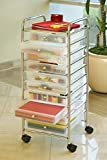 Seville Classics Large 10-Drawer Organizer