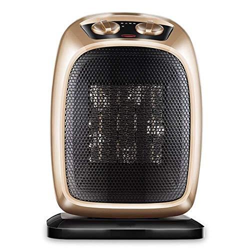 GJJ Radiador Eléctrico - Ventilador de Cerámica Portátil - con 3 Ajustes de Calefacción - Protección de Seguridad - para...