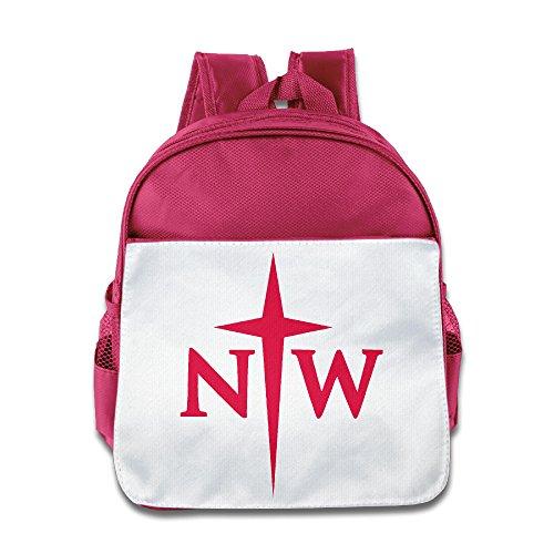 OOKOO Kids School Bag Northwestern College Backpack For Children ()