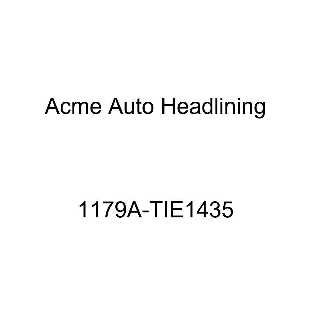 1957 Buick Century 4 Door Riviera Hardtop 8 Bows, 2 Chrome Acme Auto Headlining 1179A-TIE1435 Tan Replacement Headliner
