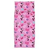 Disney Minnie Mouse Preschool Nap Pad Sheet, Pink, 19' x 44'