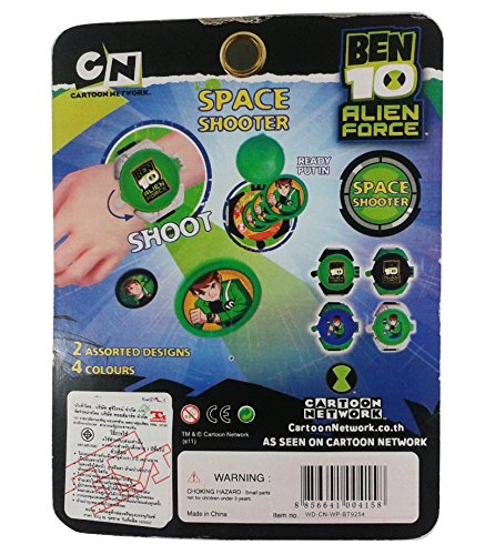Ben 10 Alien Force Wrist Space Shooter Flying Disks