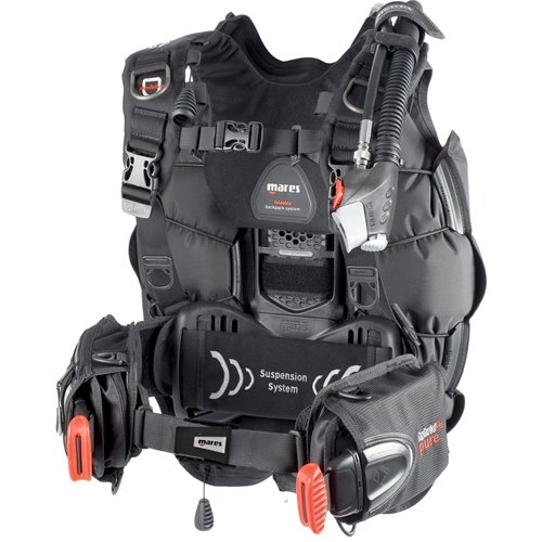 Mares Hybrid Pure BCD with MRS Plus Weight Pockets - Medium/Large