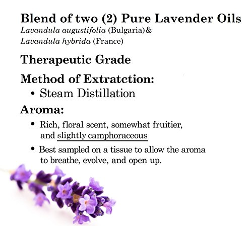 Majestic Pure Lavender Oil, Natural, Therapeutic Grade, Premium Quality Blend of Lavender Essential Oil, 4 fl. Oz by Majestic Pure (Image #6)
