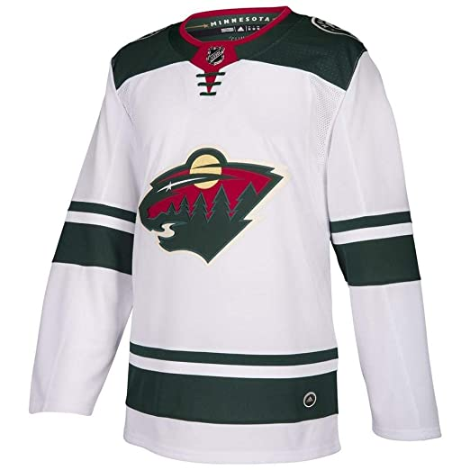 new style 5be9e 5dc97 Amazon.com: adidas Minnesota Wild NHL Men's Climalite ...