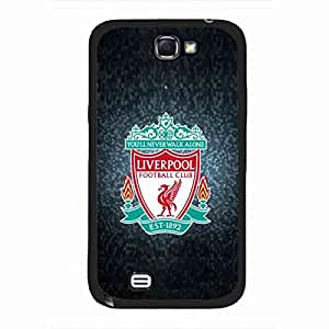 fuucase Case Samsung Galaxy Note 2 Case,Original The Premier League Liverpool FC The Reds Cover funda