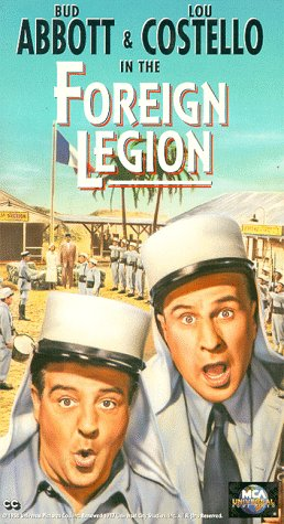 Abbott & Costello in the Foreign Legion [VHS] -
