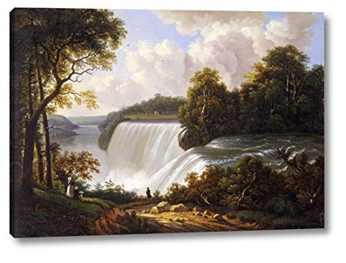 Niagara Falls Scene by Victor DeGrailly - 17