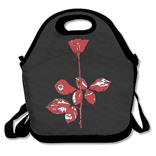 Depeche Mode Lunch Box Bag For Kids And Adult,lunch Tote Lunch Holder With Adjustable Strap For Men Women Boys Girls,This Design For Portable, Oblique Cross,double Shoulder