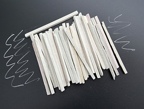 white-chalk-pencils-natural-chalk-stone-slate-pencils-50-pencils-set-white