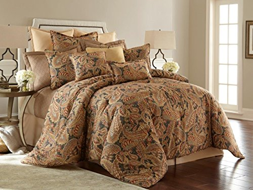 Sherry Kline VEN407982Q Venetian 4Piece Comforter Set Multi