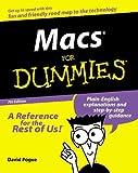Macs for Dummies, David Pogue, 0764507036