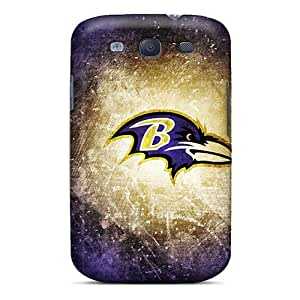 High Quality EButcher Baltimore Ravens Skin Case Cover Specially Designed For Galaxy - S3