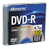 Memorex 4.7GB DVD-R/DVD-RW Combo-Pack (6-Pack)