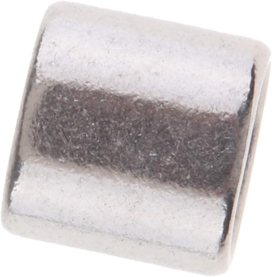 B Blesiya Manguito de Lazo de Aluminio Virola de Cable de Acero Inoxidable