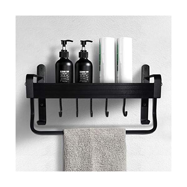 51M6YsYtjzL Geahod Duschregal ohne Bohren, Selbstklebende Duschablage Rostfrei, Dusche Badregal für Badezimmer, Nagelfrei Duschkorb…