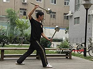 Traditional Wushu Kung Fu Double Melon Hammer