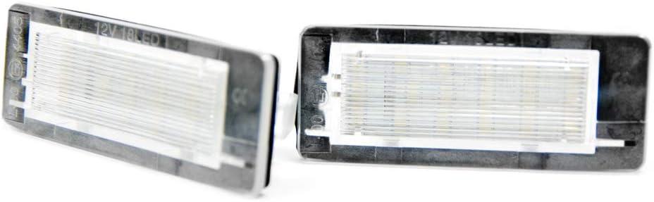 2 X Led Kennzeichenbeleuchtung Xenon Leuchten 6000k Kennzeichen Led Auto