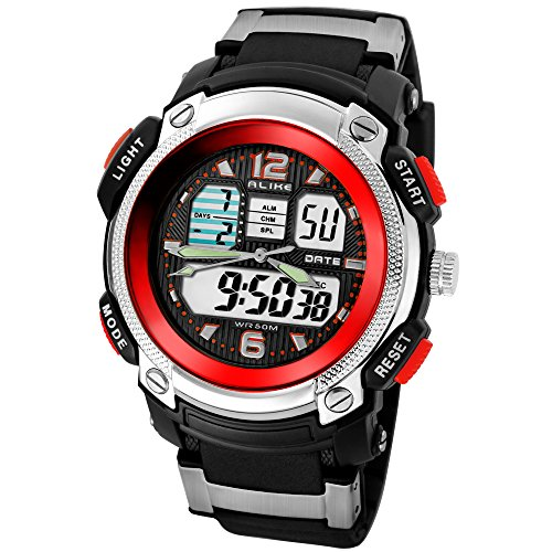 alike-luminous-watch-mens-watch-sports-utility-water-resistant-ak1163-quartz-digital-wristwatch-red
