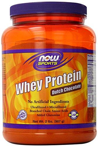 NOW Sports Dutch ChocolateWhey Protein, 2-Pound