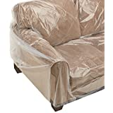 "Furniture Sofa/Couch Cover (1 Pack) protects during moving 152"" x 45"""